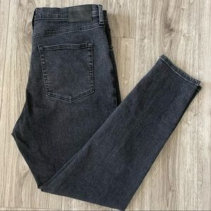 EVERLANE High Rise Jeans Washed Black Size 33